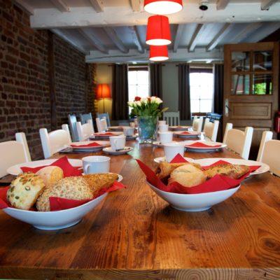 Fermette de Somme-Leuze | Gîte Ardenne | Salle à manger