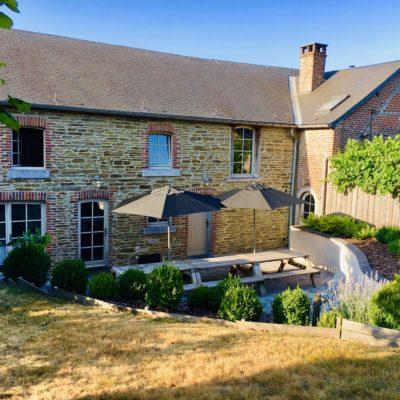 Fermette de Somme-Leuze | Gîte Ardenne | Jardin