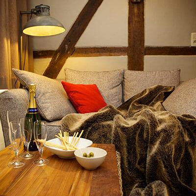 Fermette de Somme-Leuze | Vakantiehuis Ardennen | Salon